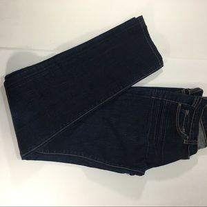 J Brand Dark Women Wash Skinny Jean Blue Denim - 6